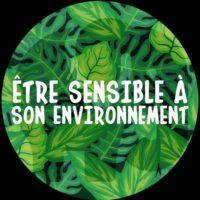 Être sensible à son environnement